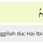 As Saffat Ayat 104