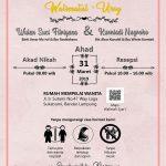 Undangan Pernikahan Islami Syari