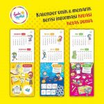 Kalender Dinding Kreativa