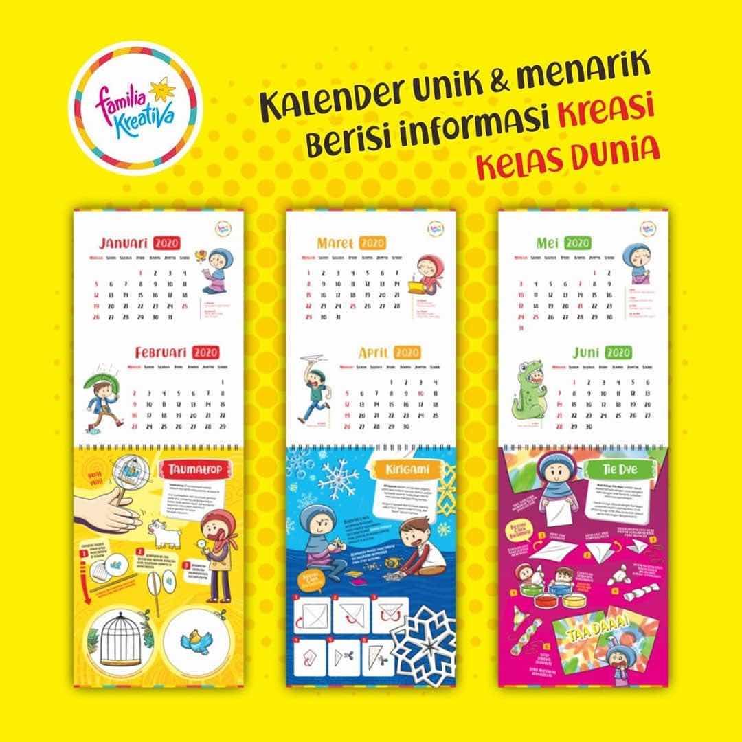 Desain Kalender Dinding Keren - 5 Desain Kalender Dinding ...