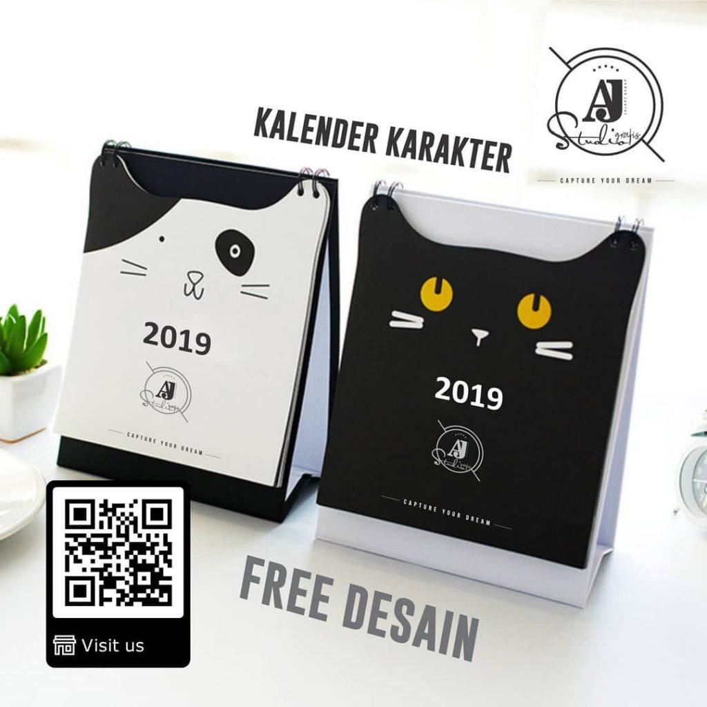 5 Ide Desain Kalender 2020, Unik, Keren dan Elegan ...