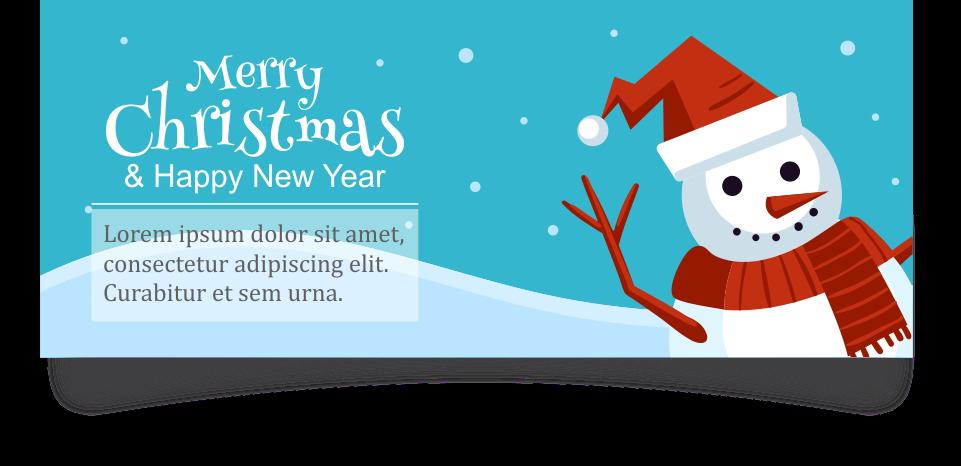 Desain Kartu Ucapan Natal - SerbaBisnis