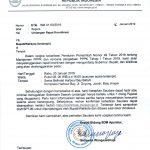 Surat Undangan Rakor Kab Kota