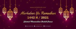 Banner Marhaban Ya Ramadhan 1442H 2021