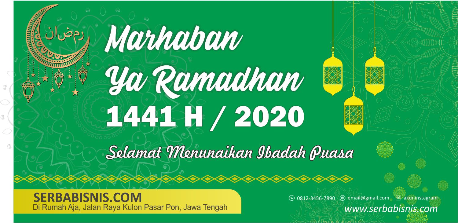 Banner Marhaban Ya Ramadhan 2020 - SerbaBisnis