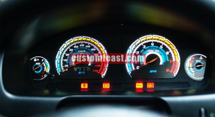 Galant v6 Custom Speedometer