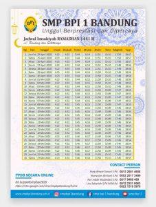 Desain Jadwal Imsakiyah Puasa Ramadhan 2020/1441H ...