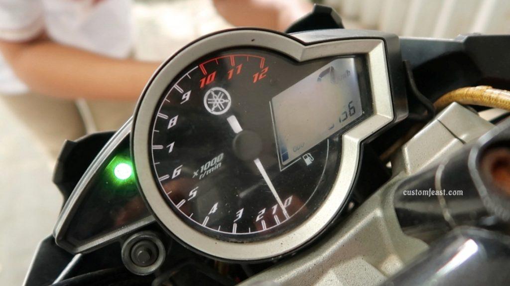 Custom Speedometer Digital Buram