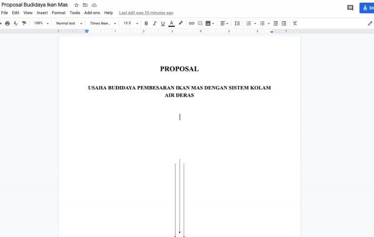 Gambar Proposal Budidaya Ikan Mas Serbabisnis.com