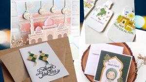Contoh Kartu Lebaran Idul Fitri