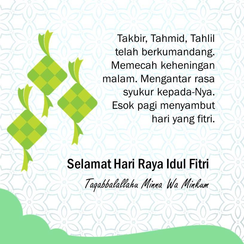 Ucapan Hari Raya Idul Fitri slide 3