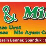 Banner bakso dan mie ayam - SerbaBisnis