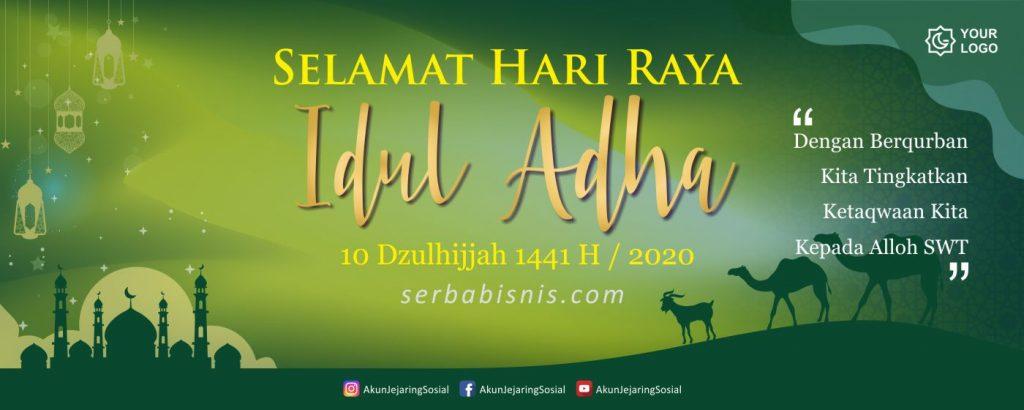 Banner Spanduk Idul Adha