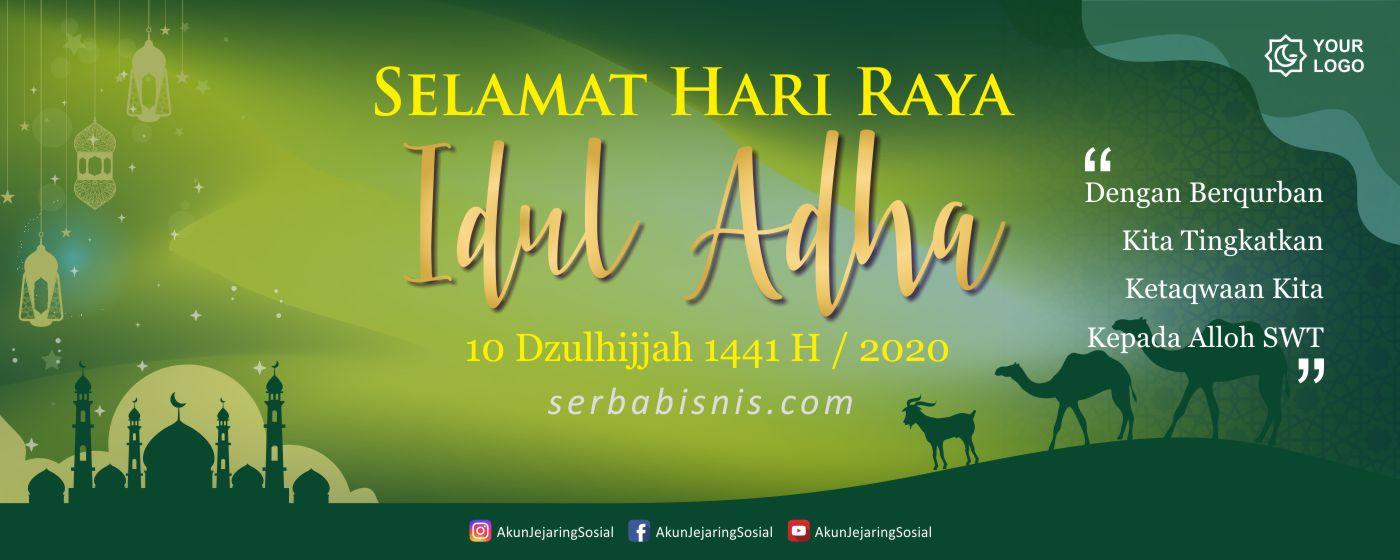 Banner Spanduk Idul Adha Serbabisnis.com - SerbaBisnis
