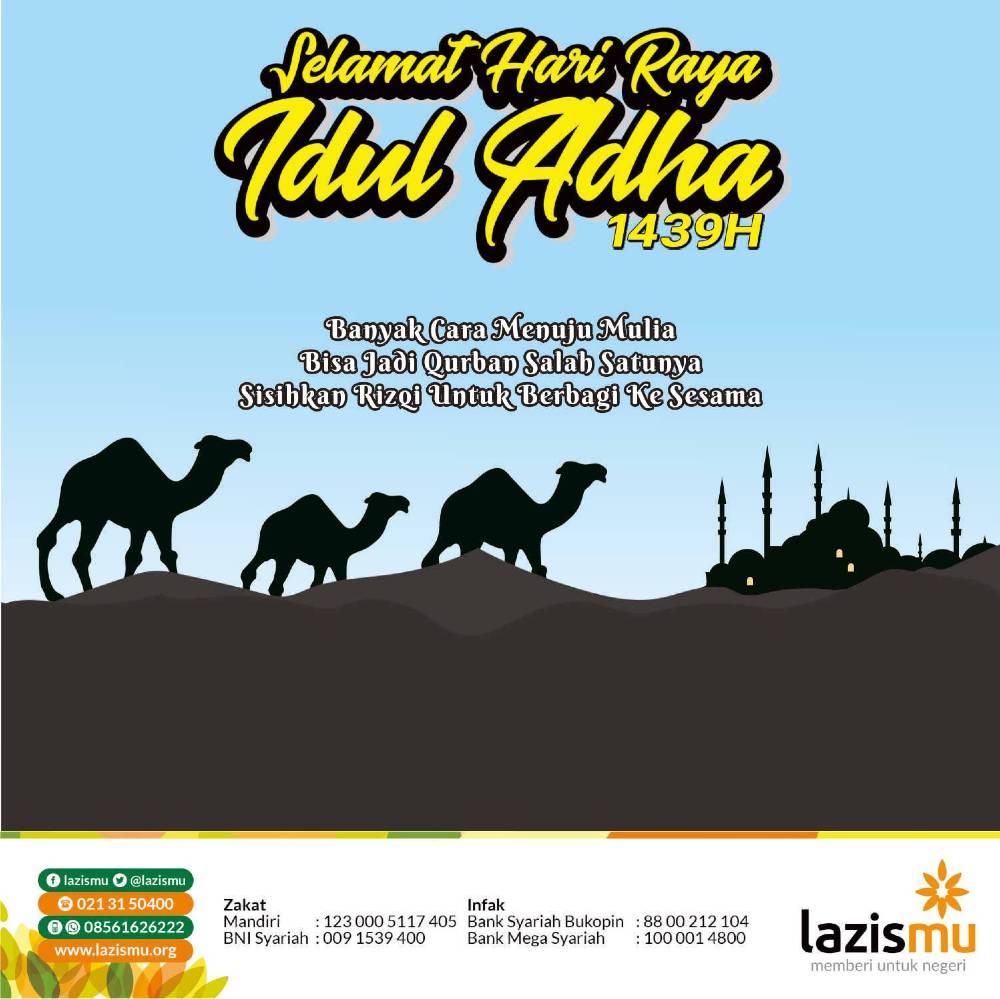 Banner Lazismu Selamat Idul Adha
