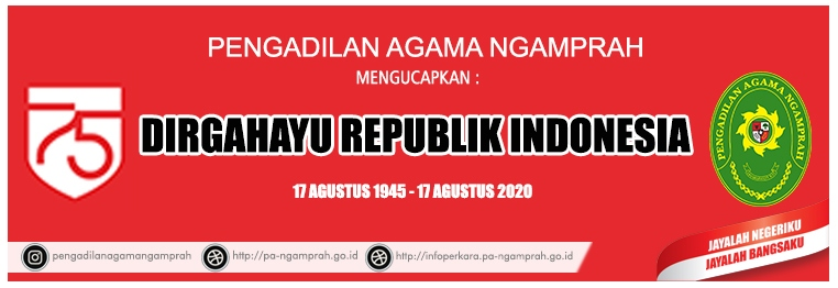 Banner 17 Agustus 2020 PA Ngamprah
