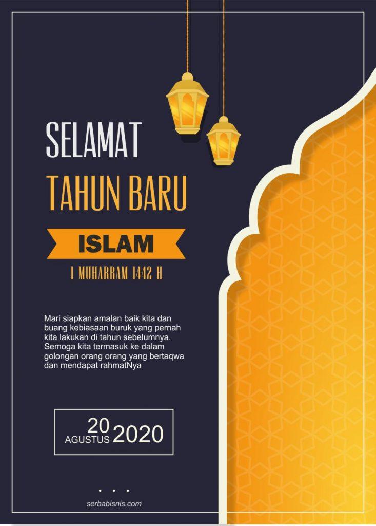 Poster Selamat Tahun Baru Islam