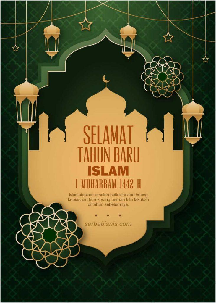 Poster Ucapan Tahun Baru Islam