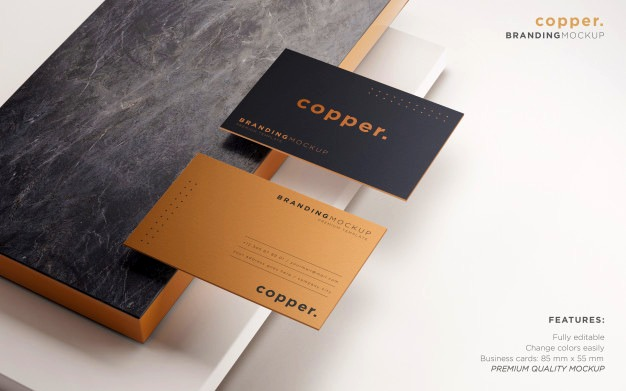 elegant business card psd