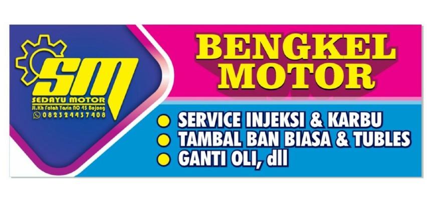 Banner Bengkel Sedayu Motor