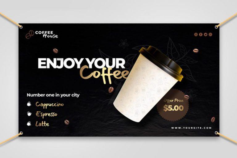 Black Banner Coffee Shop 6 - SerbaBisnis