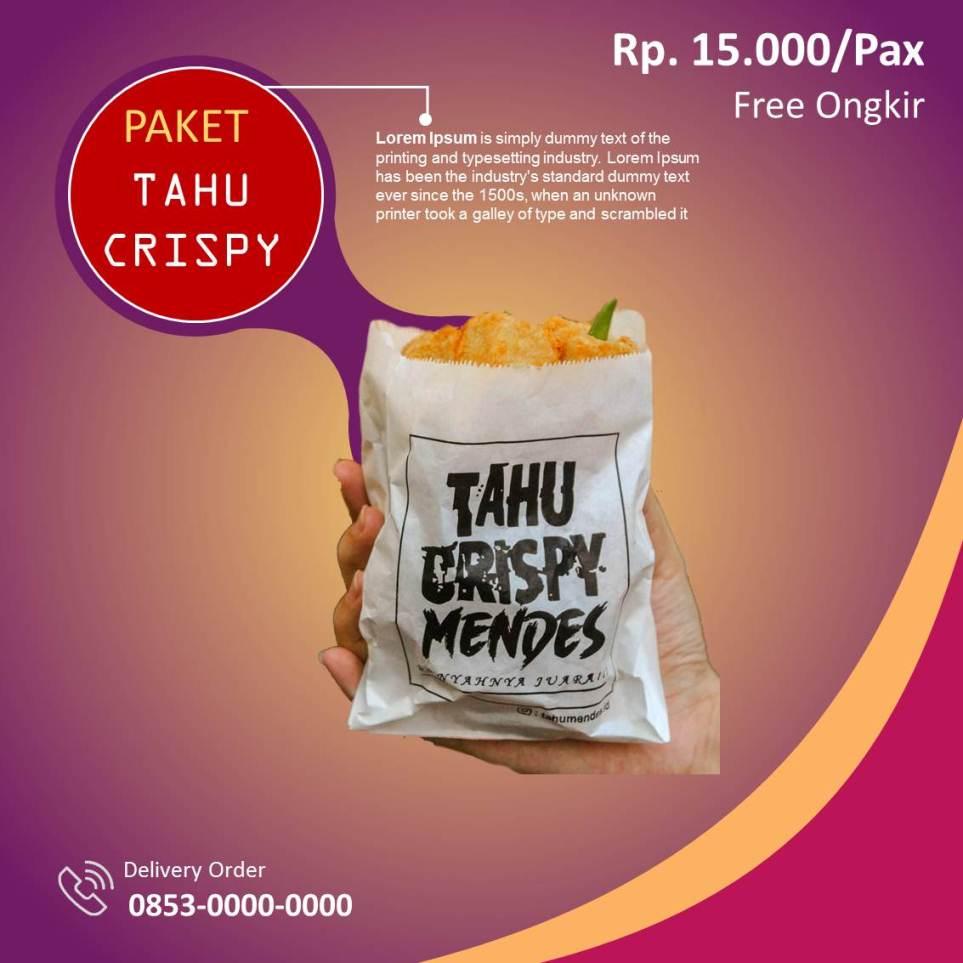 Banner Tahu Crispy Instagram 1