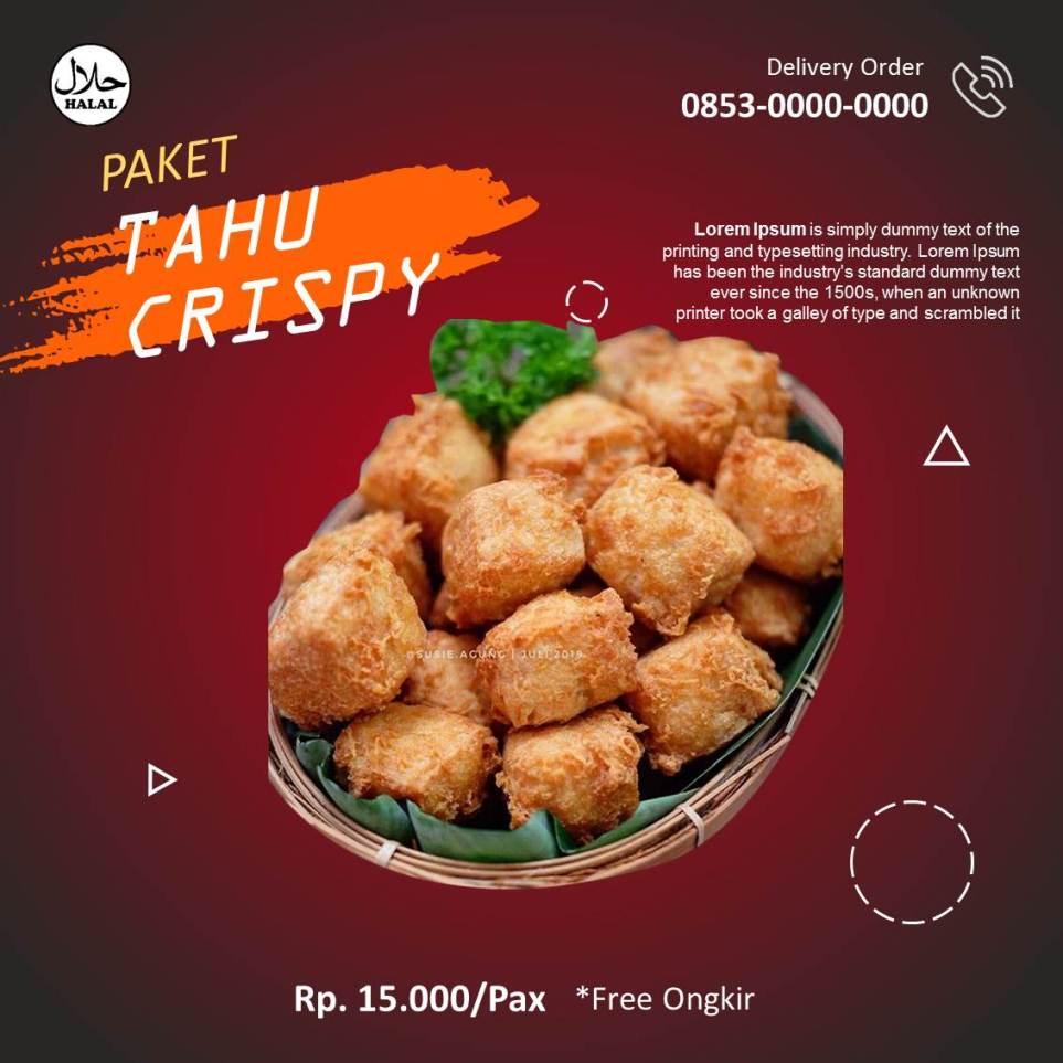 Banner Tahu Crispy Instagram 2