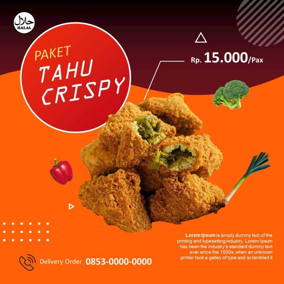 Banner Tahu Crispy Instagram 3