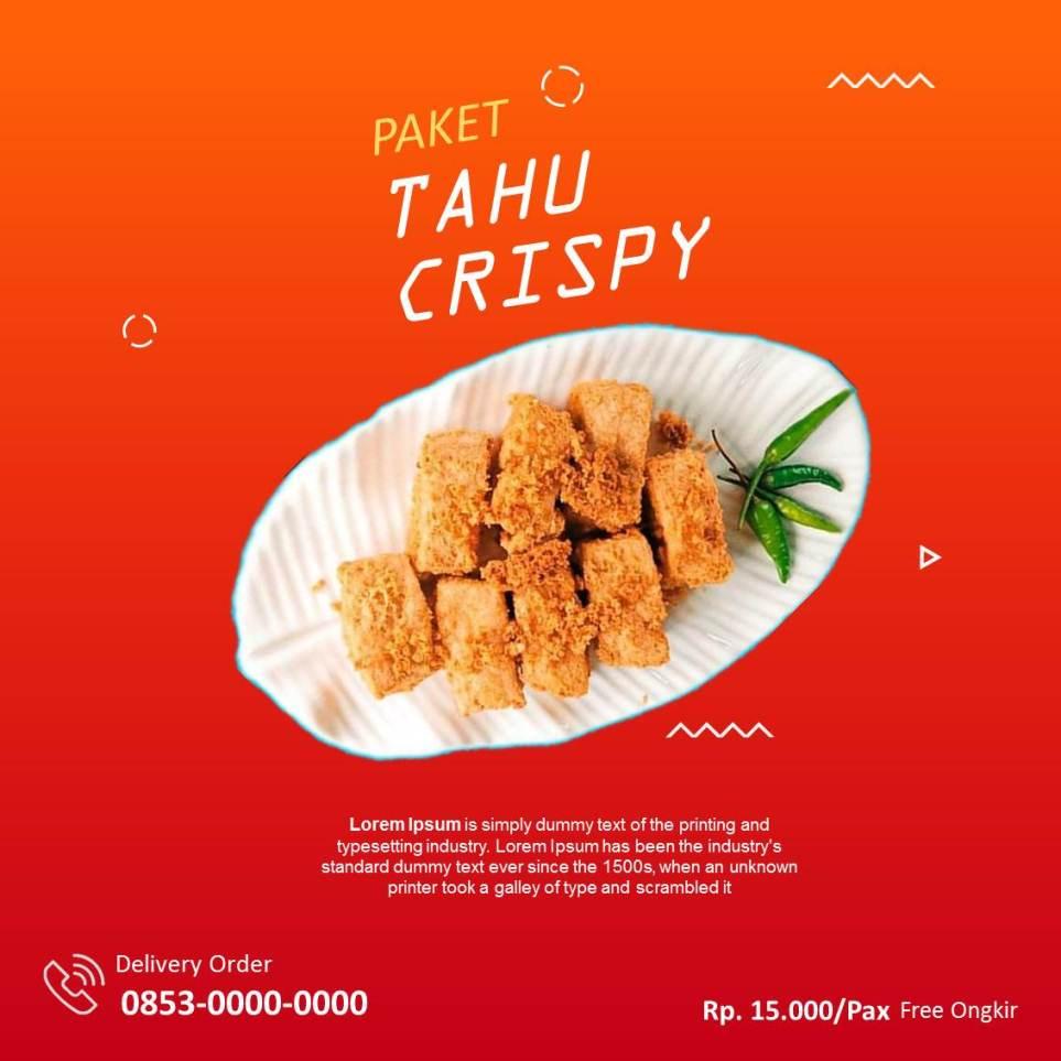 Banner Tahu Crispy Instagram 4
