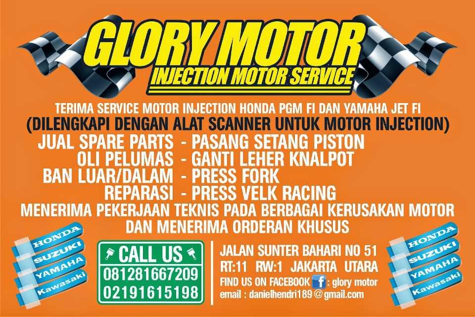Bengkel Glory Motor Jakarta Utara