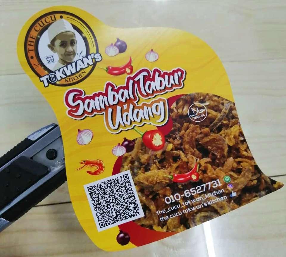 Label Makanan Unik