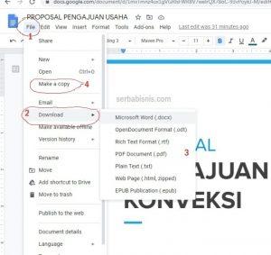 Download File Google Doc