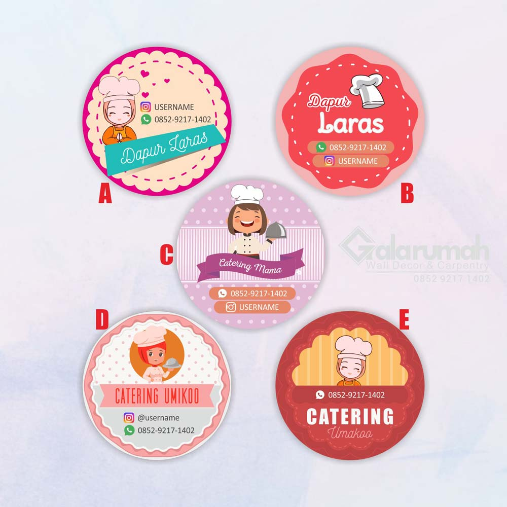 Stiker Catering