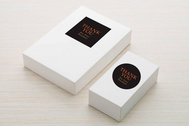 Stiker Label Thankyou Kemasan Box