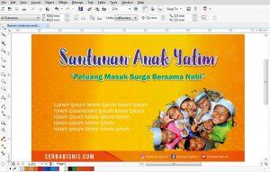 Banner Spnduk Santunan Anak Yatim Featured