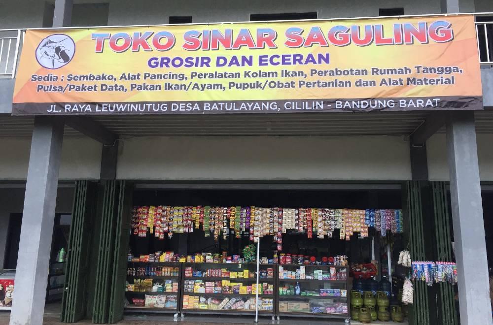 Banner Toko Sembako Grosir dan Eceran