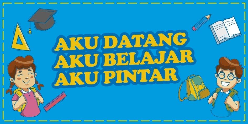 Banner Slogan Kata Mutiara Pendidikan Untuk Lingkungan Sekolah Serbabisnis