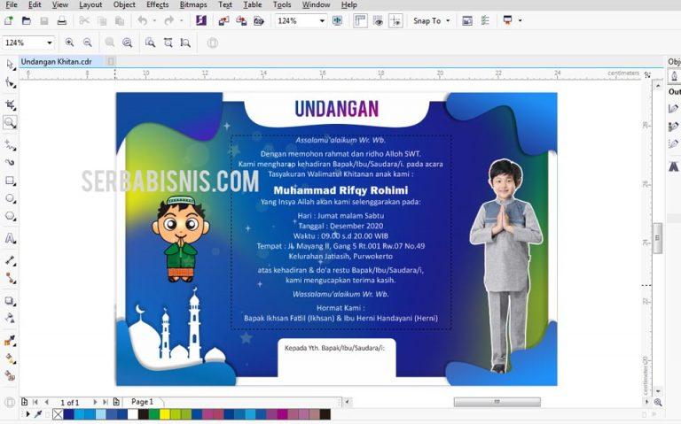 Desain Undangan Khitanan Sunat Anak Featured