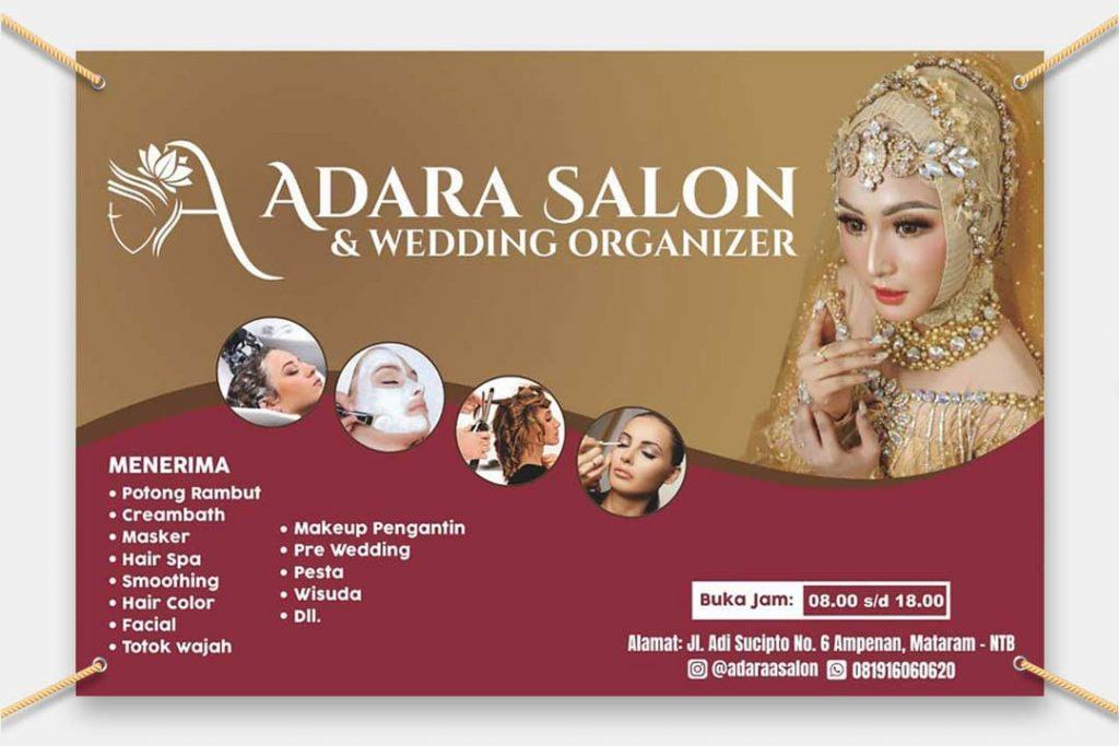 Banner Adara Salon dan Wedding Organizer