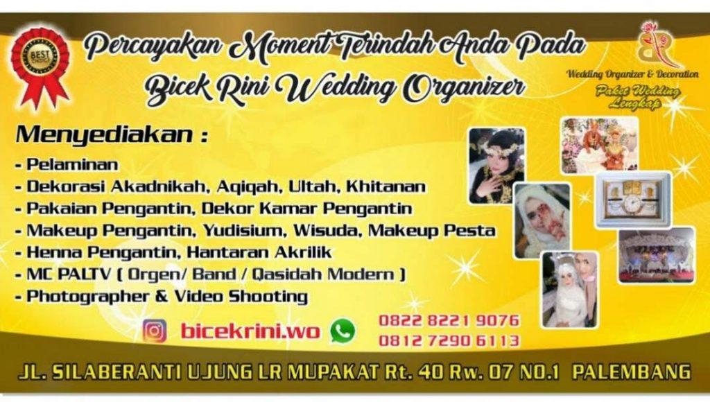 Banner Bicek Rini Wedding Organizer