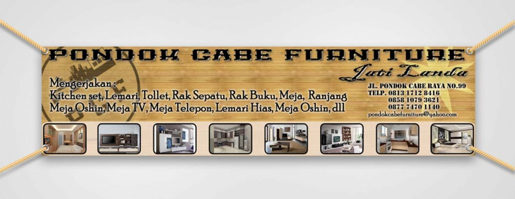 PONDOK CABE FURNITURE Jati Belanda