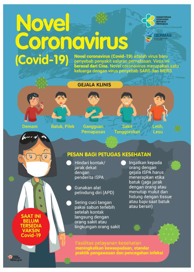 Flyer corona virus - covid 19