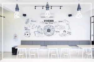 Mural dinding cafe