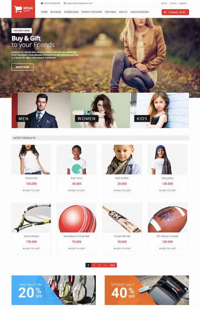 megashop theme blogger