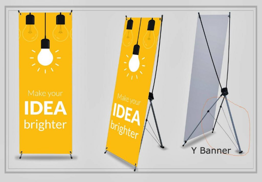 standing y banner