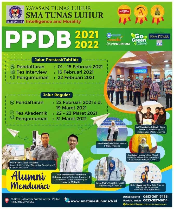 Baliho Spanduk PPDB SMA