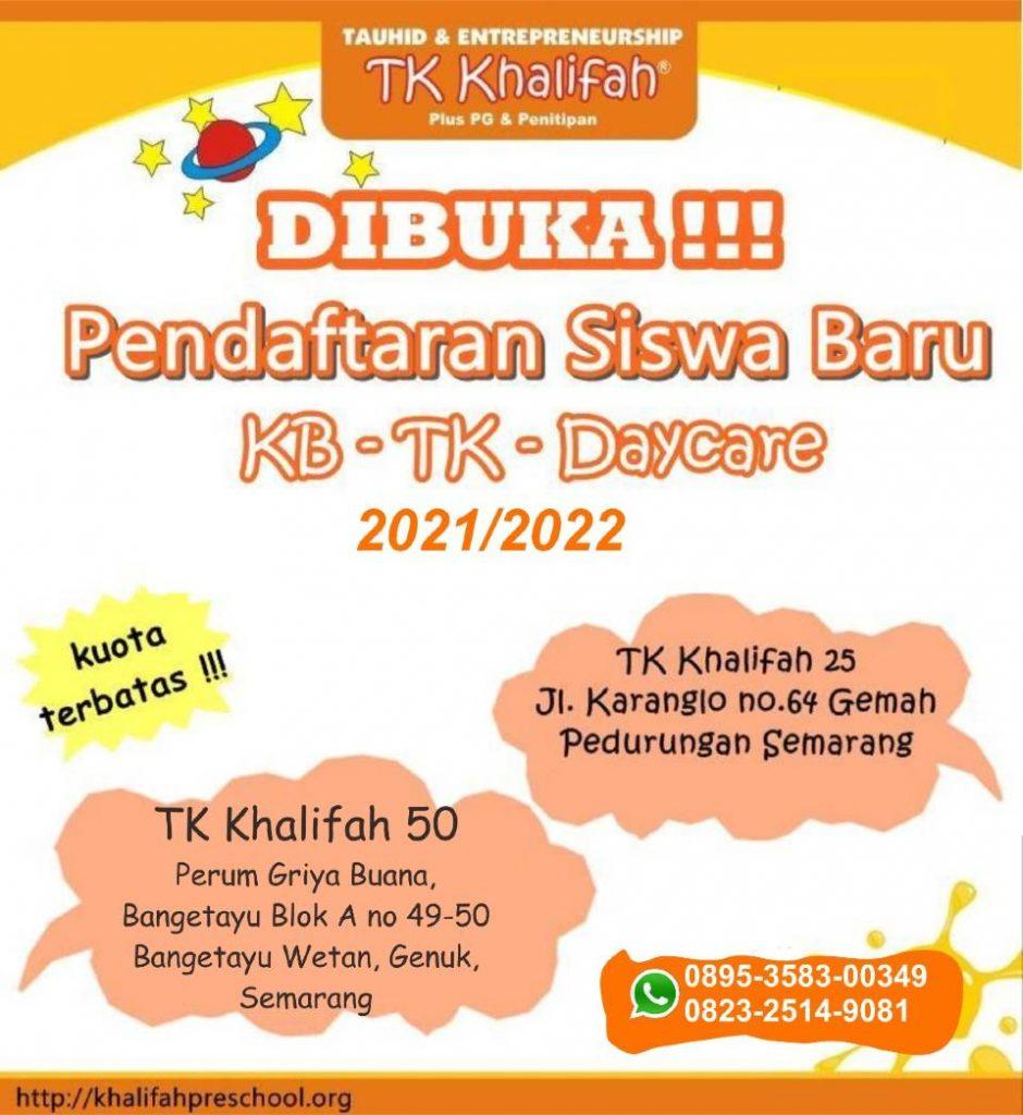 Banner PPDB Paud KB TK