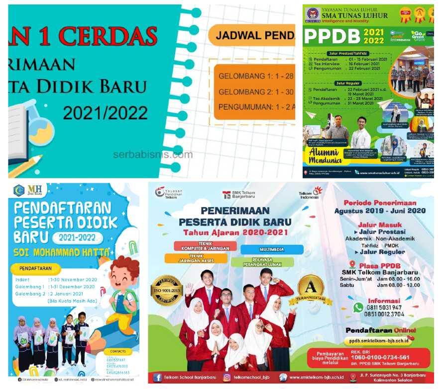 Desain Banner PPDB
