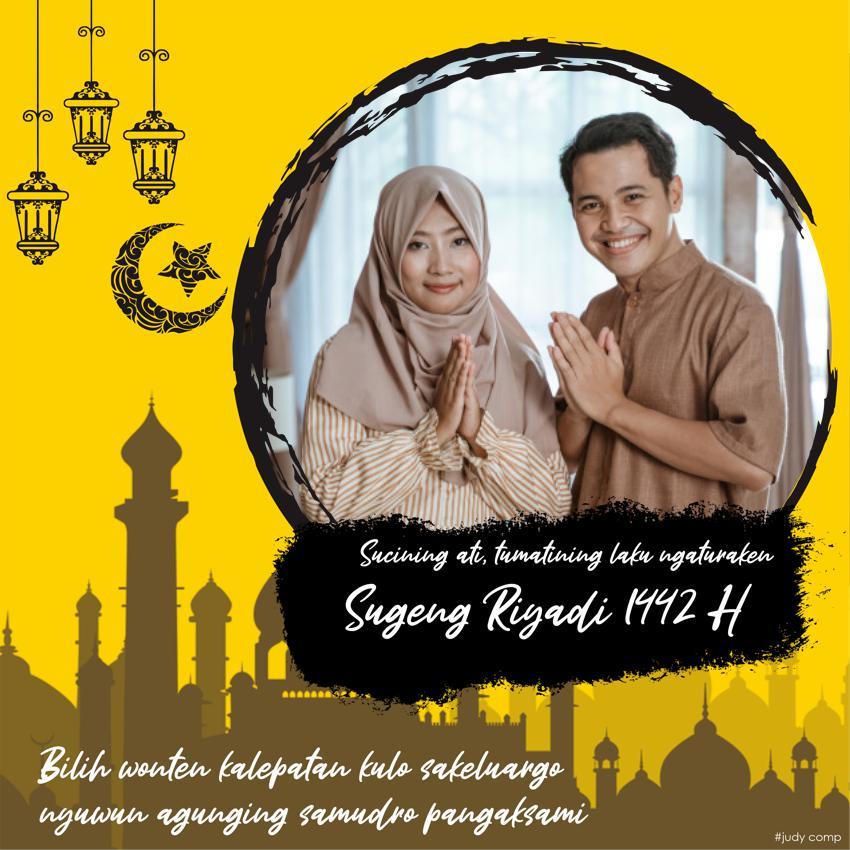 Twibbon Ucapan Idul Fitri Bahasa Jawa